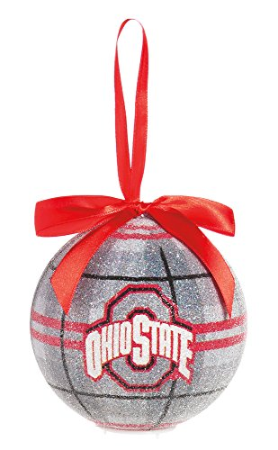 100Mm Led Ball Ornament, Ohio State University