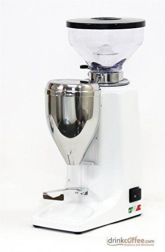 Quamar M80E Burr Coffee/Espresso Grinder - White
