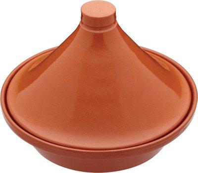 World Of Flavours Mediterranean Terracotta 28cm Tagine by KITCHENCRAFT