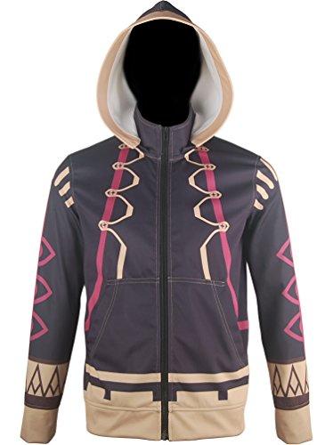 [XYZcos Men's Fire Emblem: Awakening Robin Jacket Cosplay Costume Size XL] (Kid Sized Assassins Creed Costume)