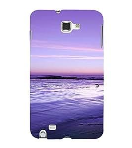 PrintVisa Travel Beach Art Design 3D Hard Polycarbonate Designer Back Case Cover for Samsung Galaxy Note 1