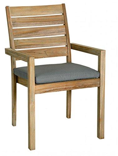BEST 02041233 Sitzkissen eckig mit Reißverschluss 48 x 48 x 6 cm, D.1233