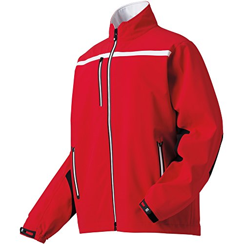 FootJoy DryJoys Tour XP Golf Jacket 2015 Red/White Large (Dryjoy Rain Wear compare prices)