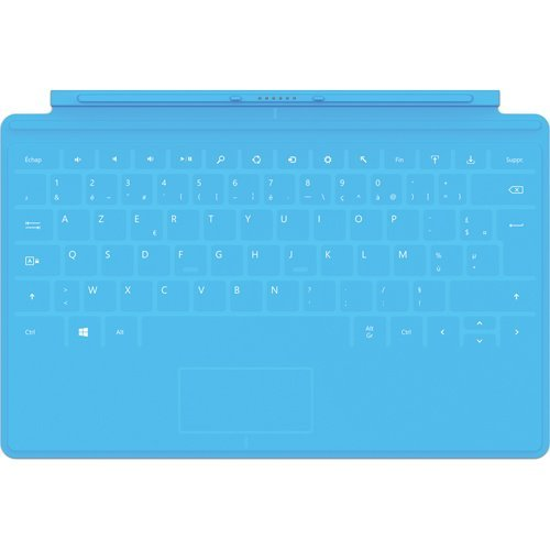 Microsoft Surface Touch Cover Keyboard | Cyan (Microsoft Touch Cover 2 compare prices)