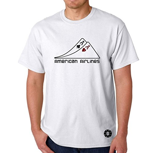 t-shirt-white-pair-of-poker-as-airlines-american