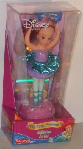 Picture of Mattel Ariel Disney Princess Ballerina Figure for My First Princess Ballet Studio (B001PBSJNI) (Mattel Action Figures)
