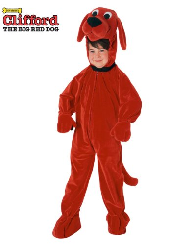 Clifford the Big Red Dog Costume - Small