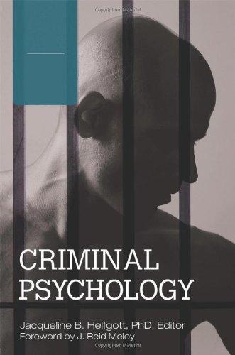 Criminal Psychology 4Vols: Criminal Psychology [4 volumes]