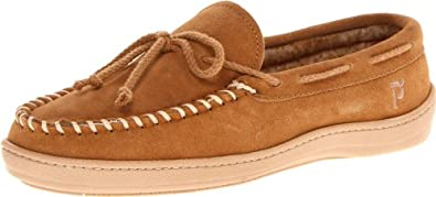 Propet Men's Trapper Slipper,Cinnamon,8 M US