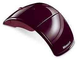 Microsoft Wireless Red Arc Mouse - ZJA-00002 ZJA00002