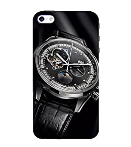 Modern Wrist watch 3D Hard Polycarbonate Designer Back Case Cover for Apple iPhone 4 :: Apple iPhone 4S