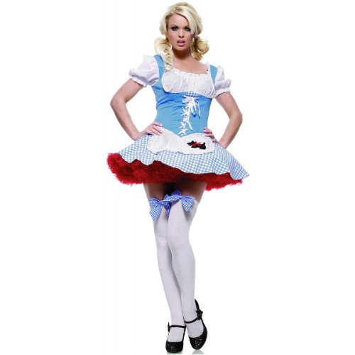 Dorothy Girl Costume - X-Small - Dress Size 0-2