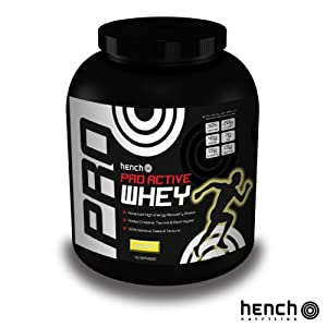 2.25KG HENCH NUTRITION PRO ACTIVE WHEY PROTEIN POWDER RECOVERY SHAKE DRINK - BANANA