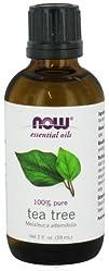 NOW Foods  100 Pure   Natural Aromatherapeutic Tea Tree
