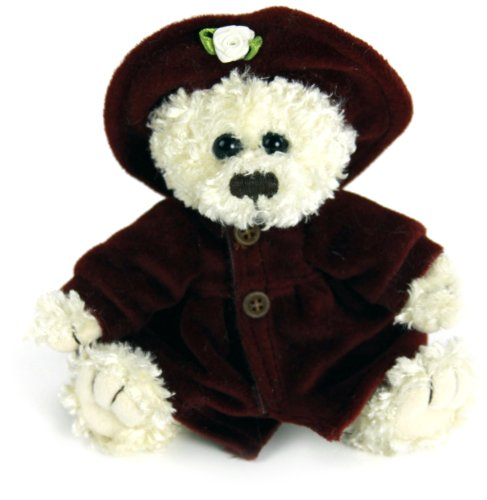 "Purr-Fection Baby Felicia Timeless Treasure Bear 6"" Plush - 1"