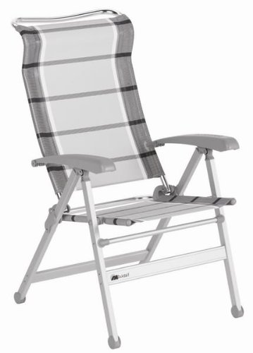Dukdalf camping chair Paso Doble silver/anthracite