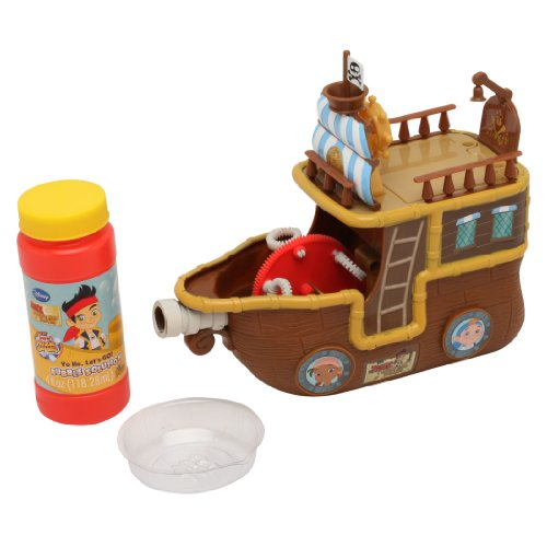 Imperial Toy Jake And The Never Land Pirates Yo Ho Let'S Go Pirate Ship Bubble Machine front-507006