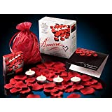 Amore Romantic Gift Set - Candles, Petals, More