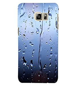 ColourCraft Beautiful Rain Pattern Design Back Case Cover for SAMSUNG GALAXY NOTE 5 EDGE