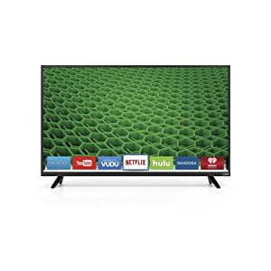 "VIZIO D48-D0 D-Series 48"" Class Full Array LED Smart TV (Black) from VIZIO"