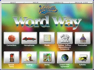 Word Way 2 (Grades 3-4) Language Arts Network/Site License