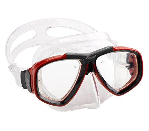 Focus Cressi Snorkeling Dive Mask, prepared for mounting of prescription opti...