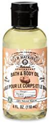 J.R. Watkins Bath and Body Oil Mango 4 oz. 6 Count