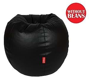 Orka XXL Bean Bag Cover - Black