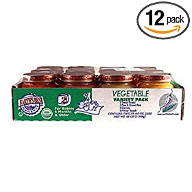 Earth's Best 2nd Vegetable  Variety Pack, 4-Ounce Jars (Pack of 12)