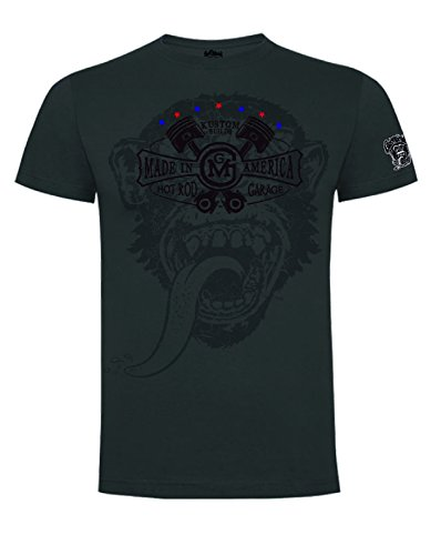 Gas Monkey Garage -  T-shirt - Uomo grigio XL