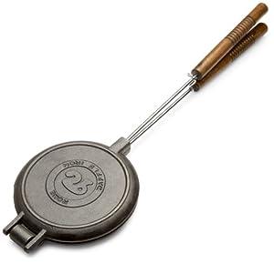 Rome's #1028 Chuckwagon Waffle Iron, Cast Iron by Rome