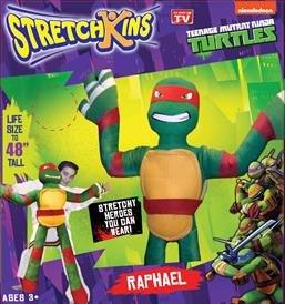 Stretchkins Teenage Mutant Ninja Turtle Raphael Life-size Plush Toy from Stretchkins