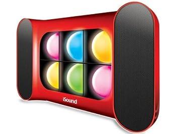 iSound ISOUND-5247 iGlowSound Haut-parleur avec dispositif de jeux de lumière Bleu