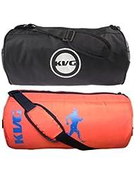 KVG Combo Gym Bag Pack Of 2 - B01LNV13AK