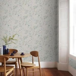 Graham and Brown Rosamund Wallpaper - Duck Egg by New A-Brend