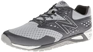 New Balance Men's MX00 Minimus Cross-Training Shoe,Grey/Silver,9 2E US