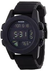 NIXON watch UNIT BLACK NA197000-00 Men
