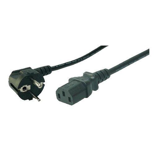 logilink-cp095-cable-dalimentation-schuko-c13-3-m-noir