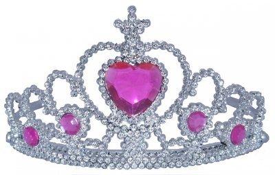 Princess Tiaras With Heart Stones