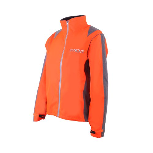 Proviz Nightrider Mens Jacket, Safety Orange, Medium