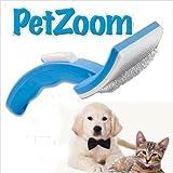 Pet Zoom - selbstreinigende Bürste für Hunde und Katzen