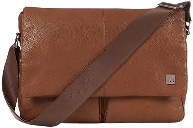 (超值)Knomo Kobe Messenger Bag 英国洛曼 真皮 斜挎包 $244.27