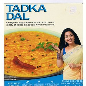Ashoka Tadka Dal - Lentils, - 10 Ounce(Pack of 6 )