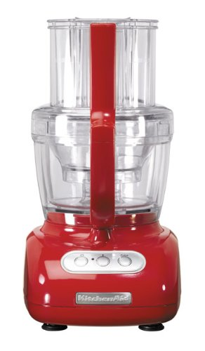 KitchenAid 5KFPM775BER Red Artisan KitchenAid Food Pocessor