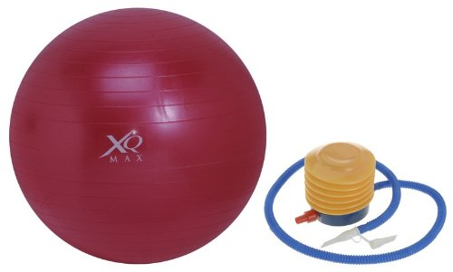 XQMax 65cm Swiss Gym Exercise Ball with Pump
