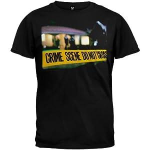 Old Glory Mens Csi Cannon Sports - CsiCrime Scene Tape T-Shirt