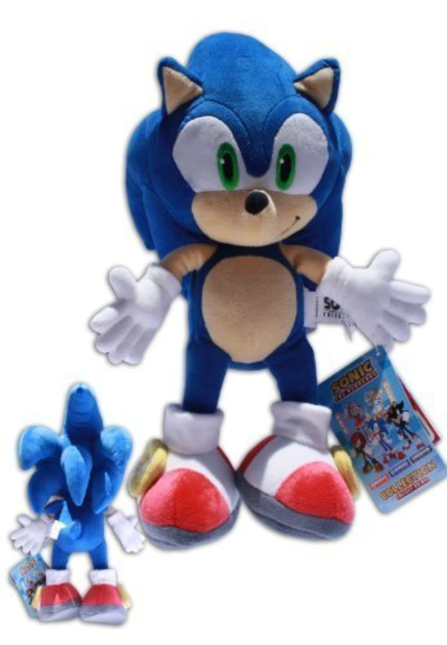Kids Play With Sonic Exe Toys And Super Sonic Exe Toys: Sonic The Hedgehog 12'' Plush Doll Sonic X Video Game Blue