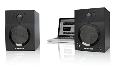 Samson MBT Active Studio Monitors with Bluetooth by Samson