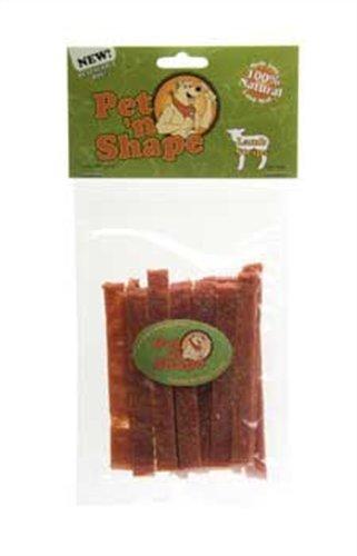 Pet 'n Shape Lamb Strips Dog Treats, 3 Ounce