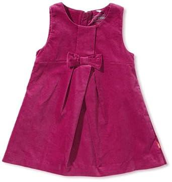 NAME IT Baby - Mädchen Kleid 13078942 - PIOLINA MINI VELOUR SPENCER WL 512, Gr. 92, Pink (BOYSENBERRY)